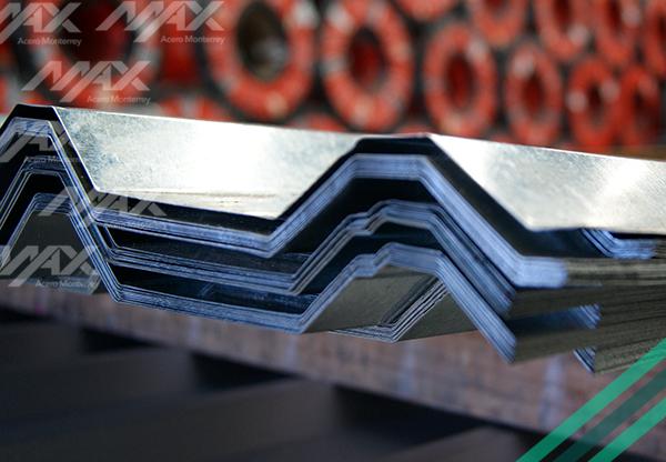 Láminas acanaladas con recubrimiento de zinc. Venta y Distribución.