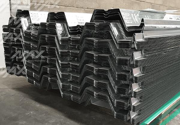 Galvadeck, calidad Ternium en acero galvanizado.