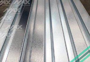 Lámina RD91.5 Galvanizada con una capa de zinc.
