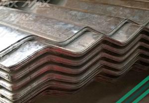 Lámina acanalada Ternium de acero recubierto.