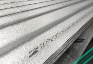 Lámina O30 zintroalum Ternium, acero recubierto.